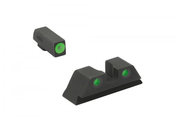 MEPROLIGHT Hyper-Bright™ GLOCK® 17/19/31 Tritium Sight