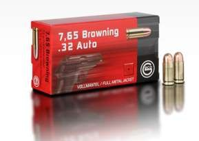 GECO 7,65 Browning/.32 Auto FMJ 73grs 50 Stk/Pkg
