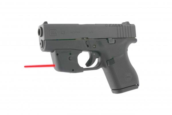 GLOCK 43 9mm Luger + Crimson Trace Laserguard