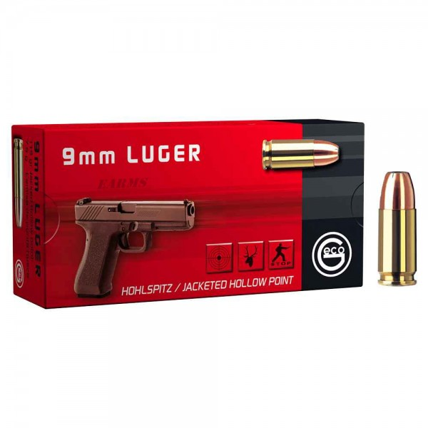 GECO 9mm Luger JHP 115 grs 50 Stk/Pkg